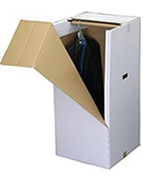 宅配クリーニング立体ハンガー箱